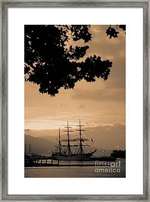 Tall Ship Gorch Fock Framed Print