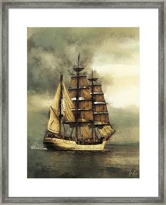 Tall Ship Framed Print by Marcin and Dawid Witukiewicz