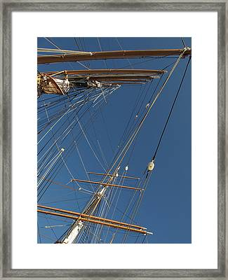 Tall Ship Rigging 1 Framed Print by Winston  Wetteland