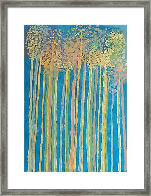 Tall Trees Framed Print by Helene Henderson