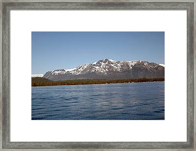 Tallac From The Lake Framed Print by LeeAnn McLaneGoetz McLaneGoetzStudioLLCcom