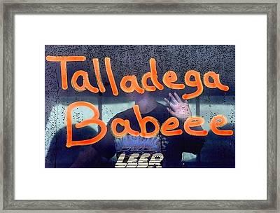 Talladega Framed Print by Tammy McKinley