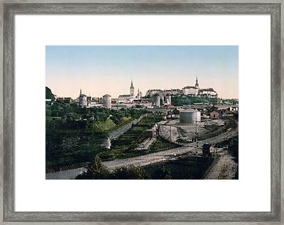 Tallinn Estonia - Formerly Reval Russia Ca 1900 Framed Print by International  Images