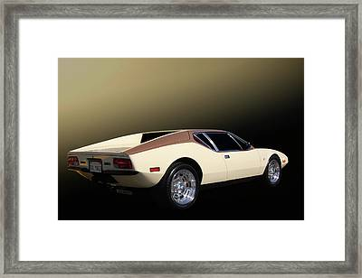 Framed Print featuring the photograph Talyn4d by Bill Dutting