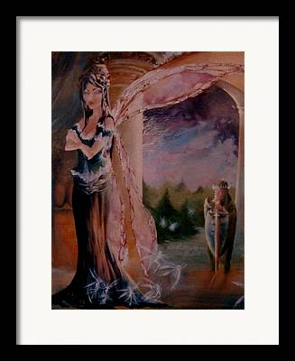 Tamlin Fairy Queen Poem Framed Prints