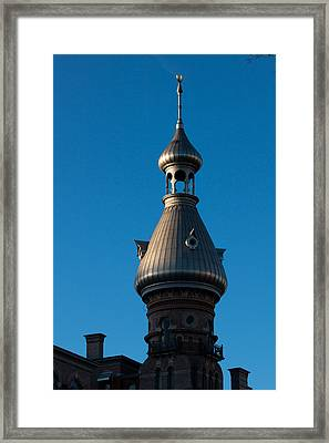 Framed Print featuring the photograph Tampa Bay Hotel Minaret by Ed Gleichman