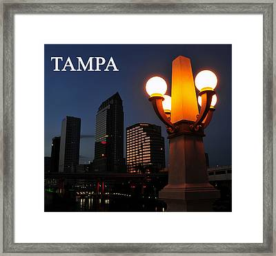 Tampa Style Framed Print by David Lee Thompson