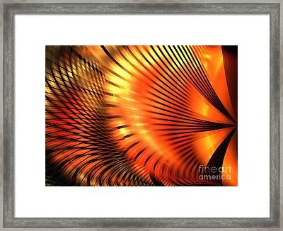 Tangerine Framed Print by Kim Sy Ok