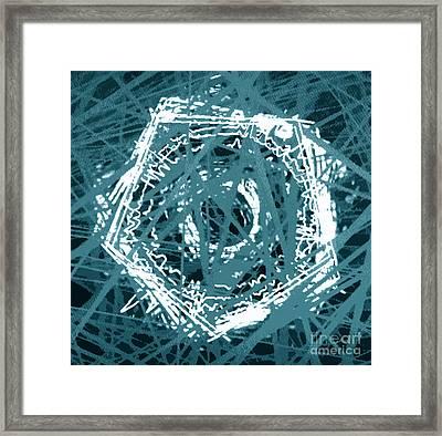 Tangled Framed Print by Tashia Peterman