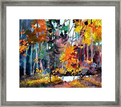 Tangled Woods Framed Print