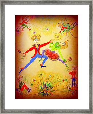 Tango-argentina Framed Print
