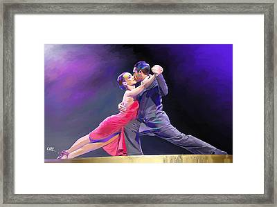 Tango Framed Print by Carvil