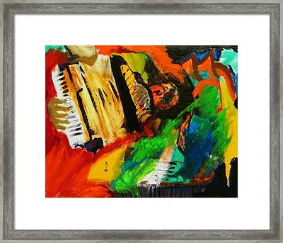 Tango Through The Memories Framed Print by Keith Thue