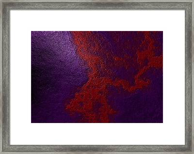 Framed Print featuring the digital art Tanjobi by Jeff Iverson
