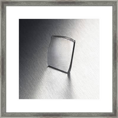 Tantalum Framed Print by