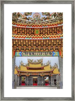 Taoist Temple 8 Framed Print by Tad Kanazaki