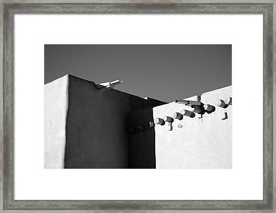 Taos Church I Framed Print