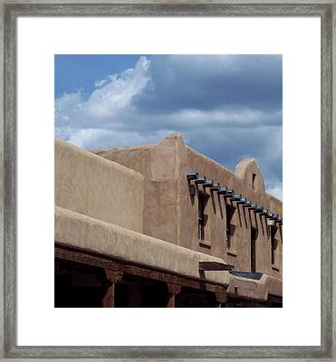 Taos Market Framed Print