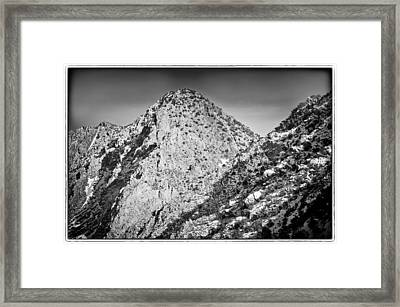 Taos Mountain 3 Framed Print