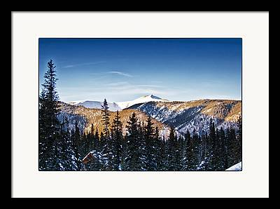 Taos Ski Village Framed Prints