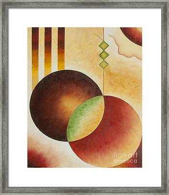 Taos Series- Architectural Journey #3 Framed Print