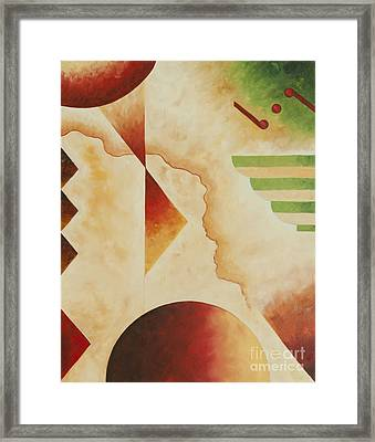 Taos Series- Architectural Journey #4 Framed Print
