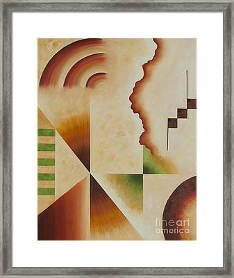 Taos Series- Architectural Journey I Framed Print