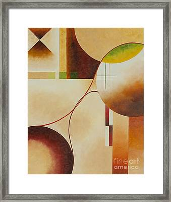 Taos Series- Architectural Journey II Framed Print