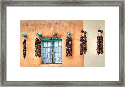 Taos Framed Print by Stellina Giannitsi