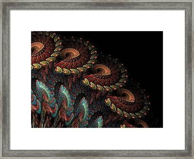 Framed Print featuring the digital art Tapestry by Kathleen Holley