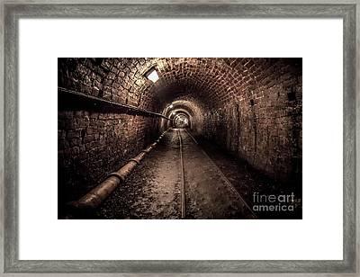 Tar Tunnel 1787 Framed Print by Adrian Evans