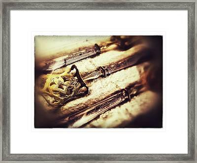 Tarnished Framed Print by Olivier Calas