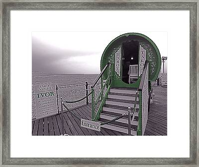 Tarot By The Sea Framed Print