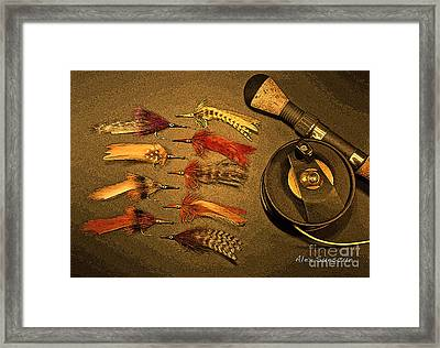Tarpon Arsenal Framed Print by Alex Suescun