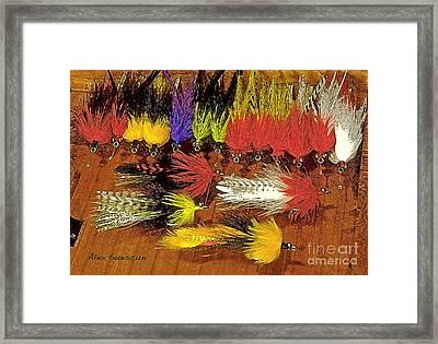 Tarpon Whistlers Framed Print by Alex Suescun