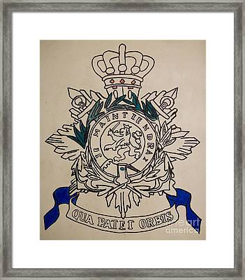 Task Force Uruzgan - Crest Framed Print by Unknown