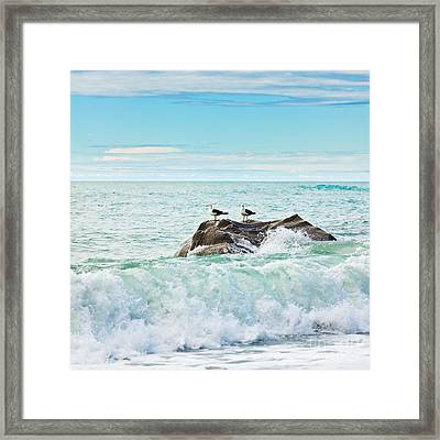 Tasman Sea Framed Print by MotHaiBaPhoto Prints