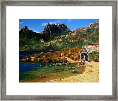 Tassie Framed Print