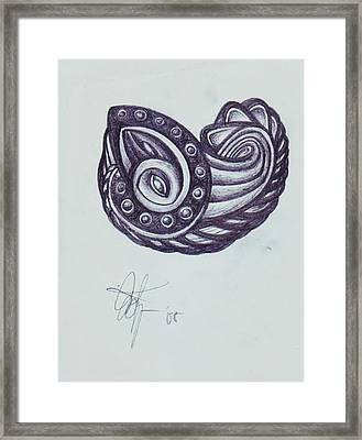 Tatoo 08 Framed Print by Xole