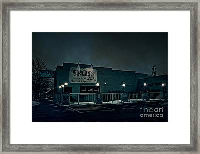 Tav On The Ave Framed Print by Joel Witmeyer
