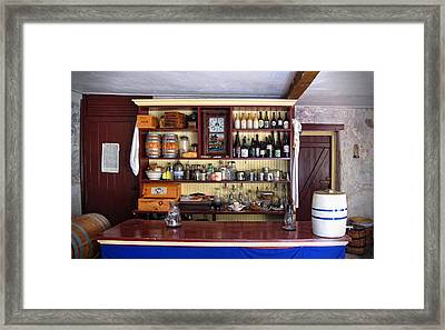 Tavern Civil War Era Framed Print by Dave Mills