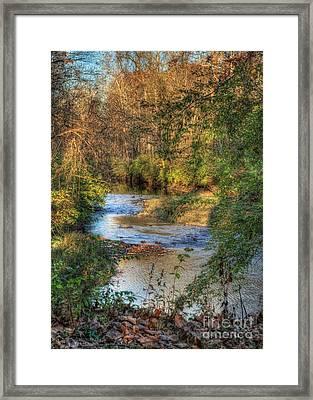 Tawawa Creek Framed Print by Pamela Baker