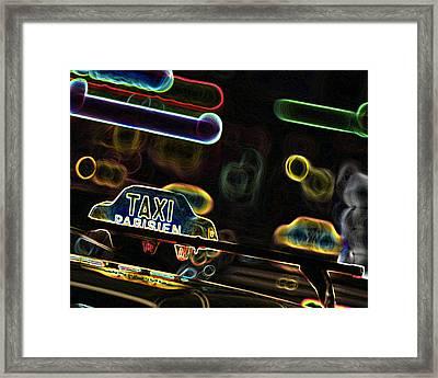 Taxi 2 Framed Print