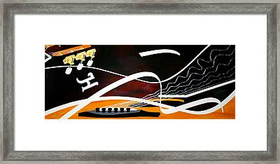 Taylors Curves... Framed Print by Guadalupe Herrera