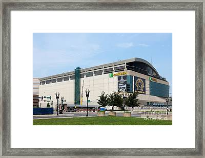 Td Garden Framed Print by Clarence Holmes