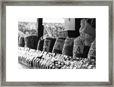 Tea Leaves Framed Print