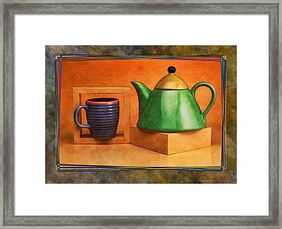 Tea  Framed Print by Mauro Celotti