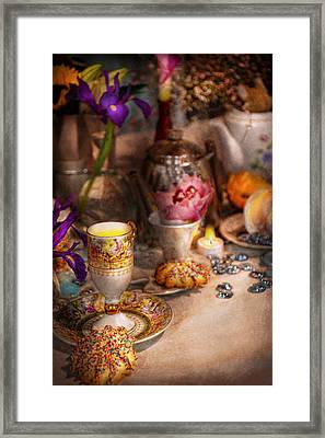 Tea Party - The Magic Of A Tea Party  Framed Print