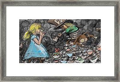 Tea Party Framed Print by Eric Atkisson