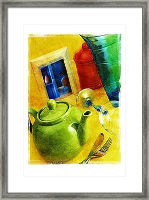 Tea Pot Framed Print by Mauro Celotti